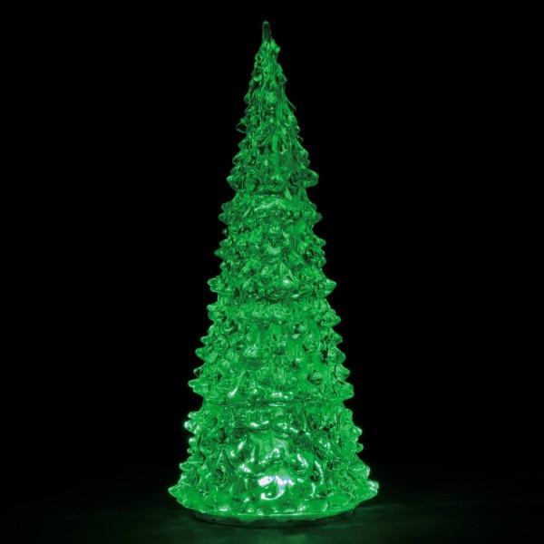 Kristalltanne 22 cm, 3-farbig