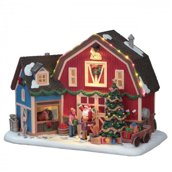 Willkommen in der Weihnachtsscheune!