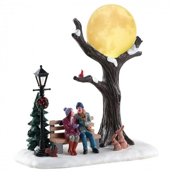 Romantischer Wintermond