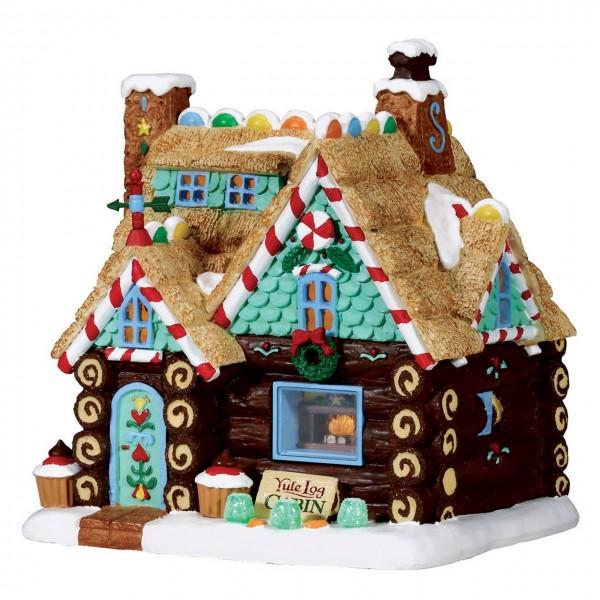 Süße Blockhütte