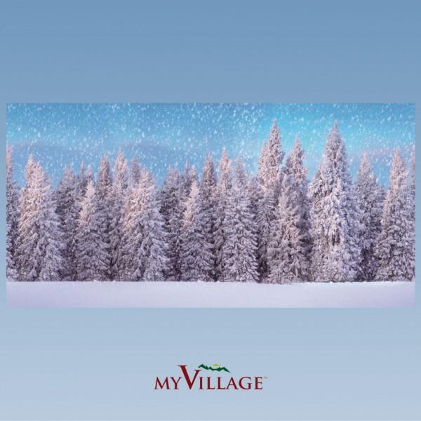 XL Hintergrundtuch Wald, 300x150cm