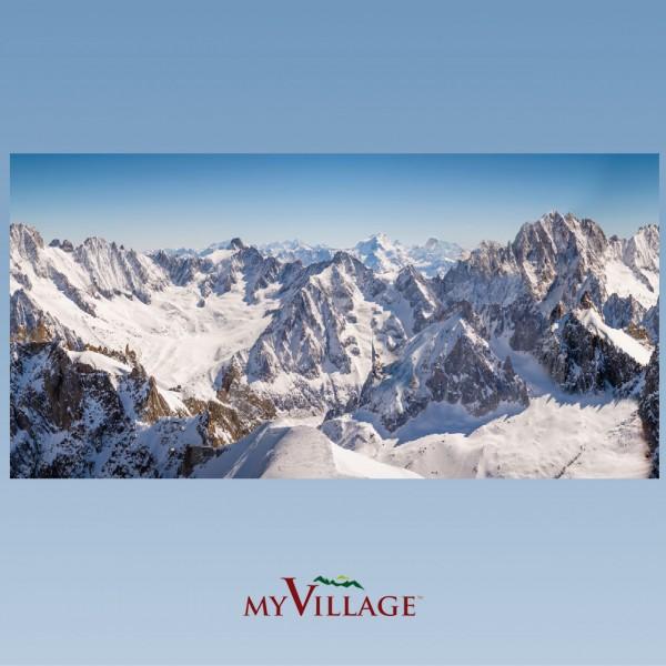 XL Hintergrundtuch Berge, 300x150cm